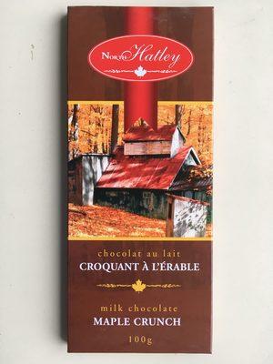 Milk Chocolate Maple Crunch - Produit - en