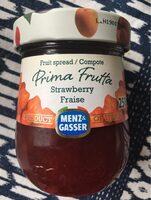 Fruit spread strawberry - Produit - fr