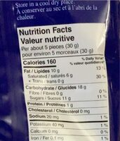 Desiree - Nutrition facts - fr