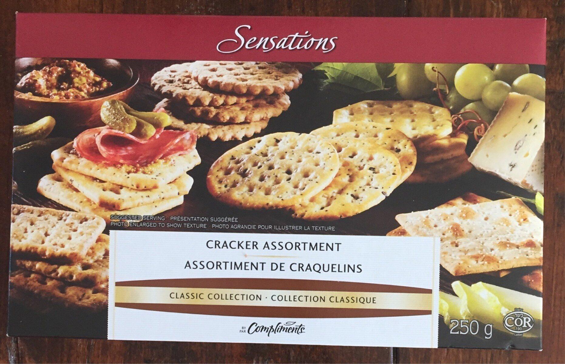 Assortiement de craquelins - Produkt - fr