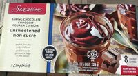 Unsweetened Baking Chocolate - Produit - fr