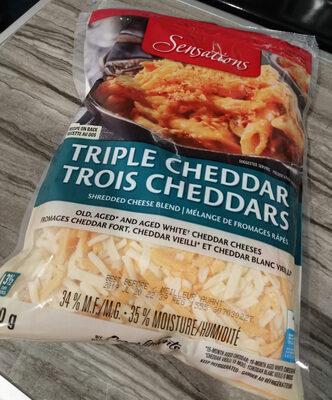 Triple cheddar - Produit - fr