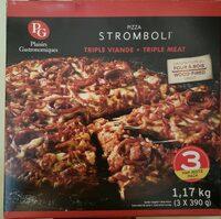 Pizza Stromboli triple viande - Product - fr