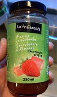 Confiture fraises et rhubarbe - Produit - fr