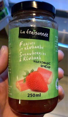 Confiture fraises et rhubarbe - Product