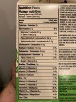 Boisson Aux Amandes (non Sucrée) - Informations nutritionnelles - fr