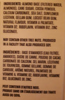 Almond chocolate - Ingredients - fr