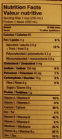 Lait Amande/noix de coco - Informations nutritionnelles - fr