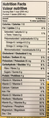 AVOINE sans gluten - Nutrition facts - en