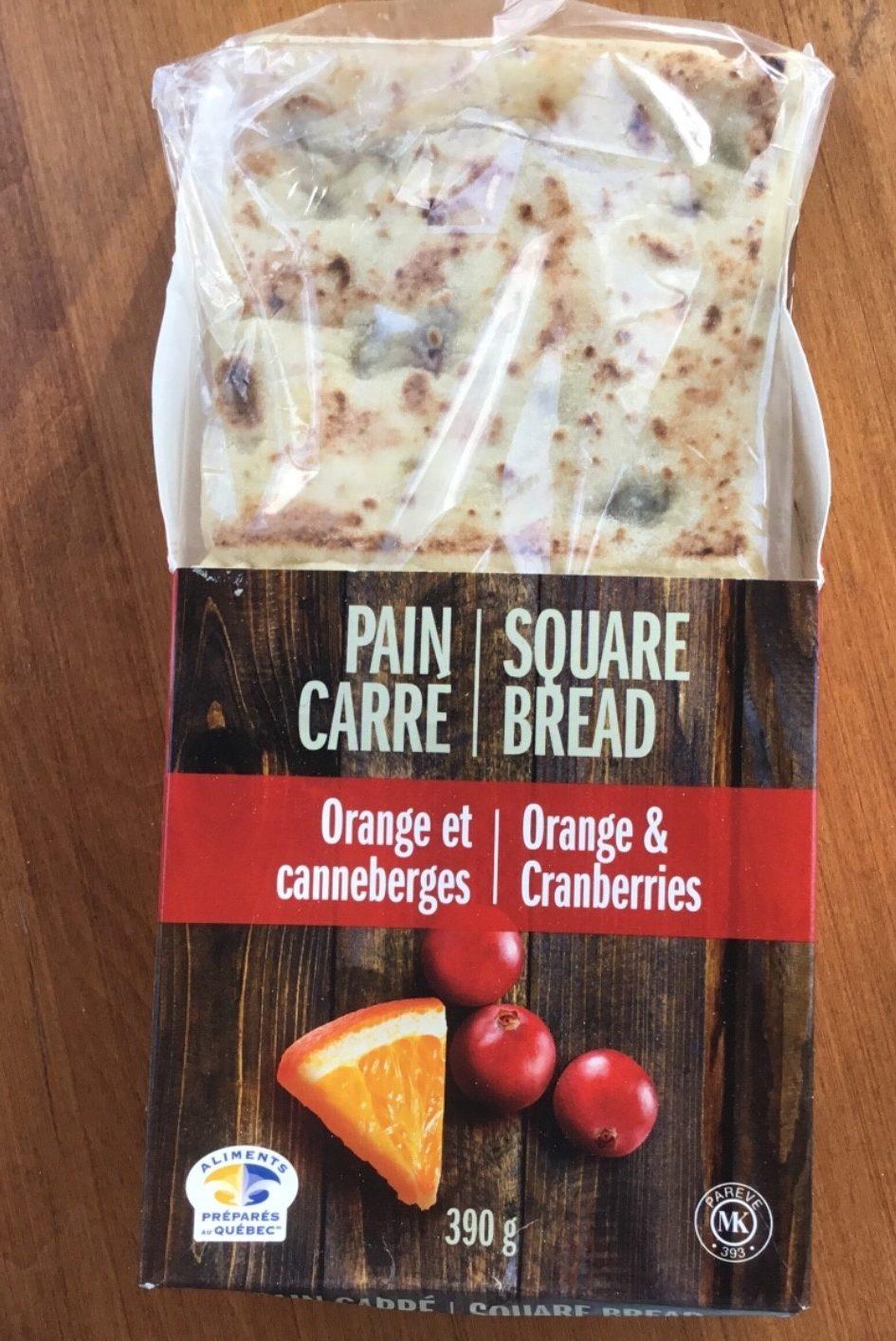 Pain carré - Product - fr