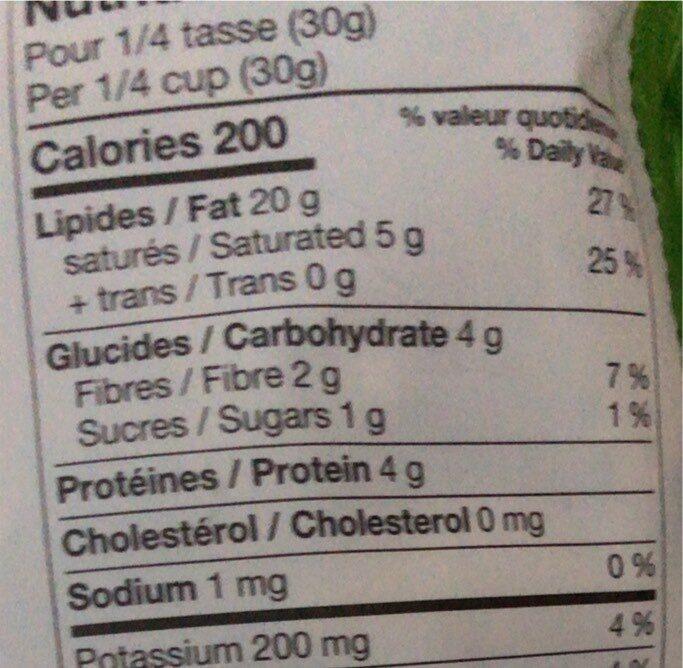Brazil Nuts - Informations nutritionnelles - en