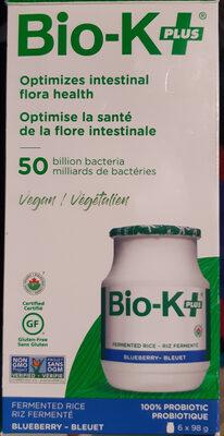 Bio- K+PLUS saveur de bleuets - Ingredients