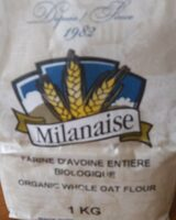 Farine davoine entiere biologique - Product - fr