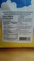 Farine biologique organic - Ingrédients - fr