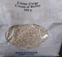 Creme dorge - Product - fr