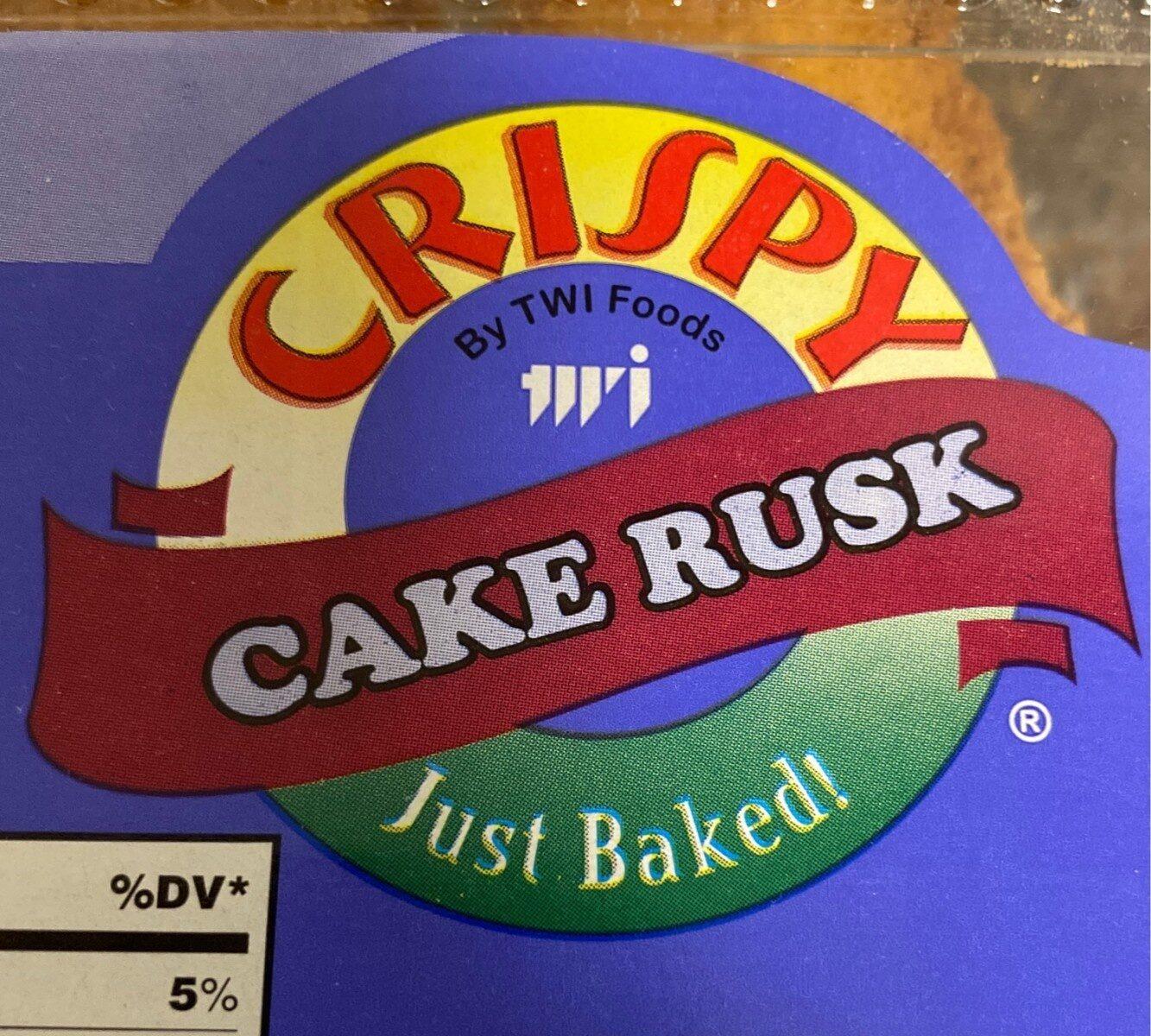 Crispy rusk cake - Product - en