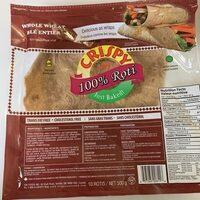 Whole Wheat Roti Bread - Product - en