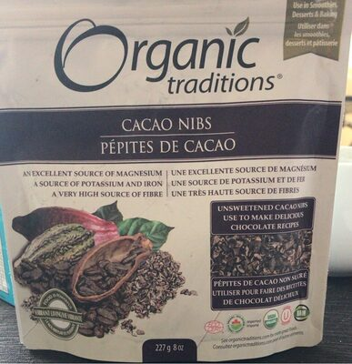 Pepites de cacao - Produit - fr