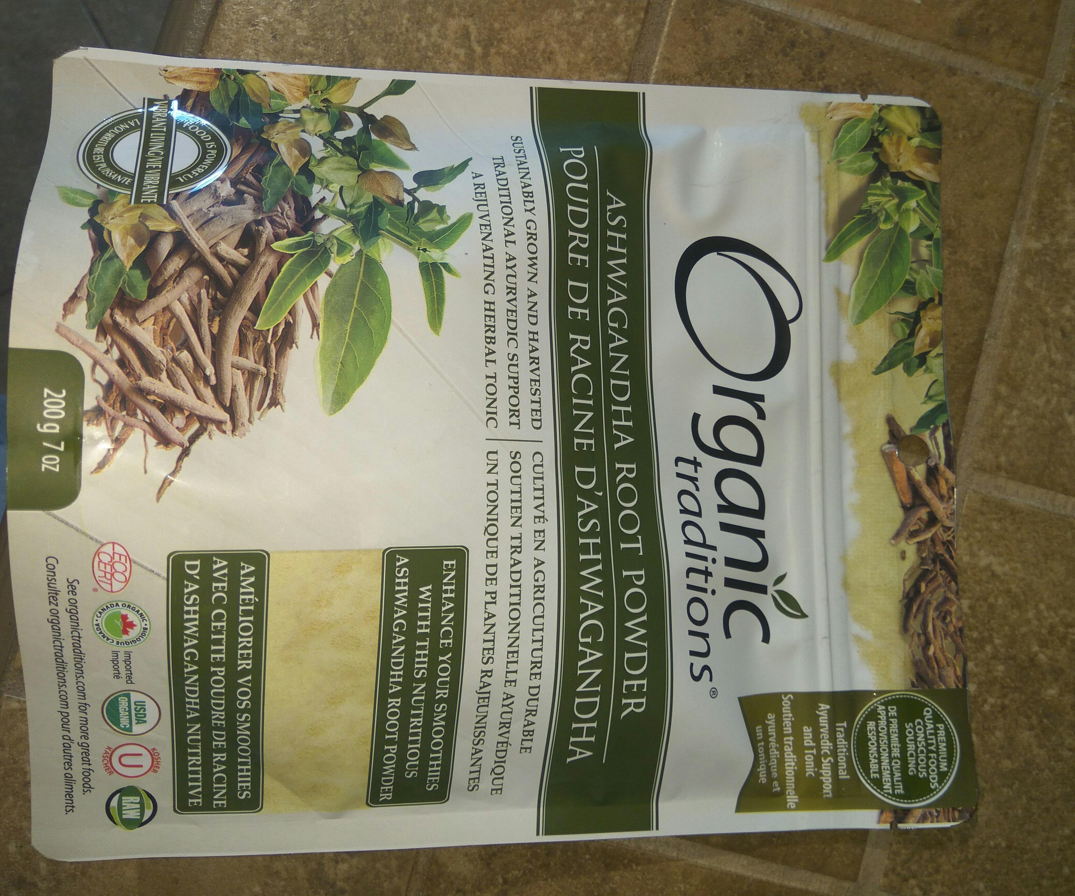 Poudre de racine d'Ashwagandha Root Powder - Produit - fr