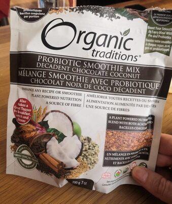 Probiotic smoothie mix - Produit - fr