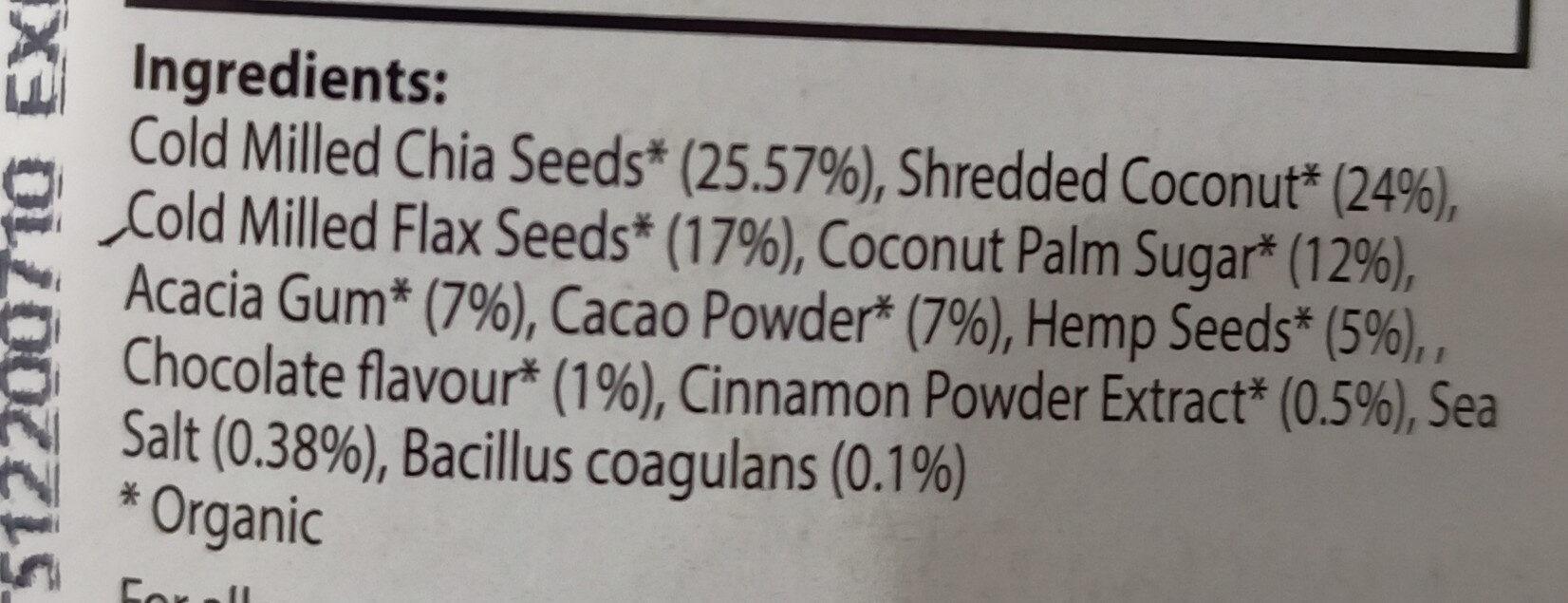 Probiotic smoothie mix - Ingrédients - en