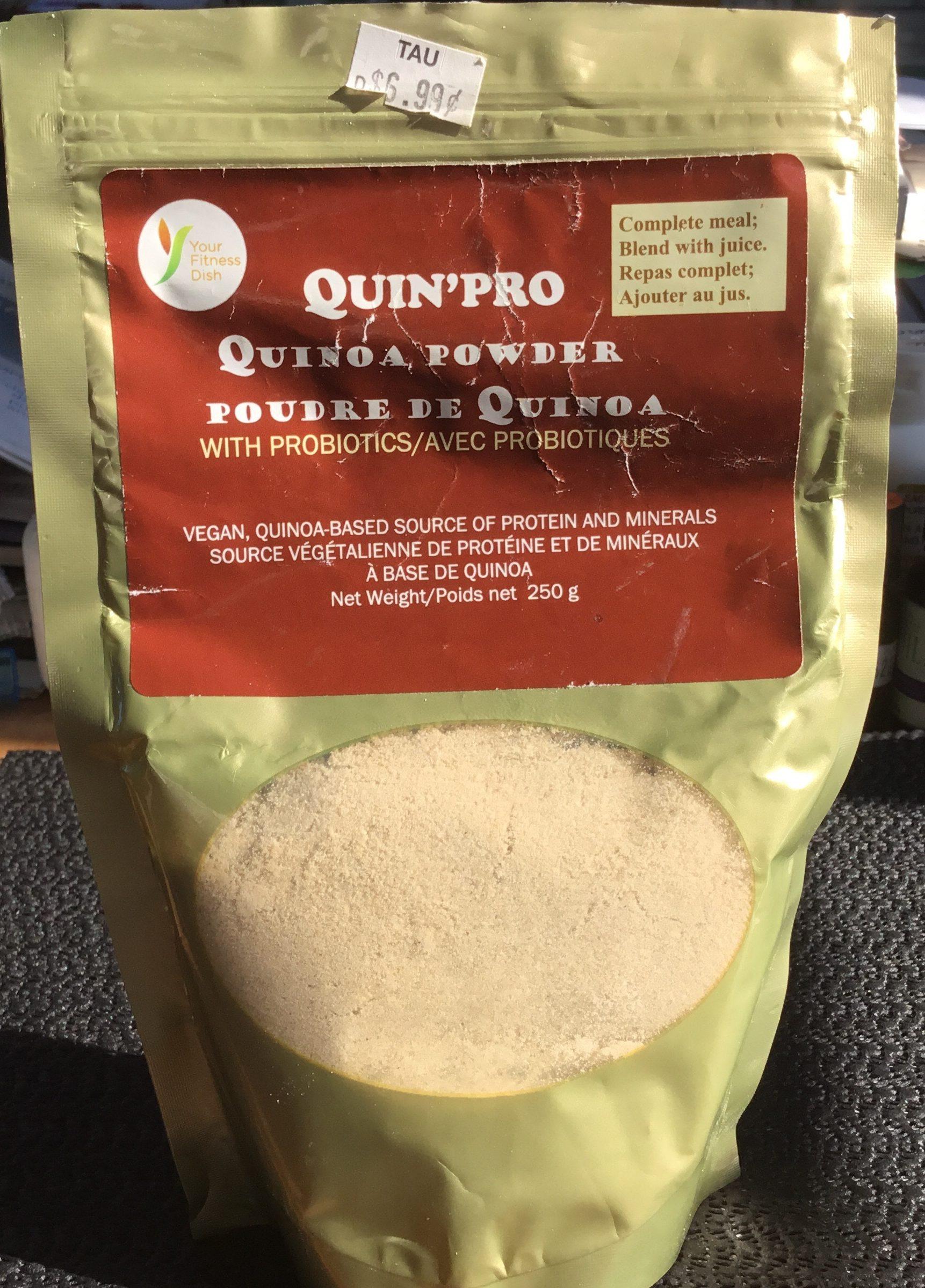 Poudre de Quinoa avec Probiotiques - Product
