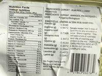 Poudre de Quinoa avec Probiotiques - Nutrition facts