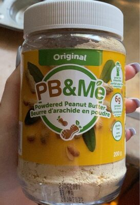 Powdered peanut butter - Product - fr