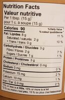 Classic - Nutrition facts - fr