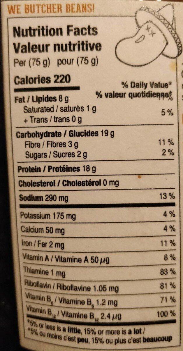 Taco Stuff'er - Informations nutritionnelles - fr