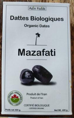 Dattes biologiques Mazafati - Product - fr