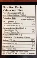 Poulet cacciatore - Informations nutritionnelles - fr