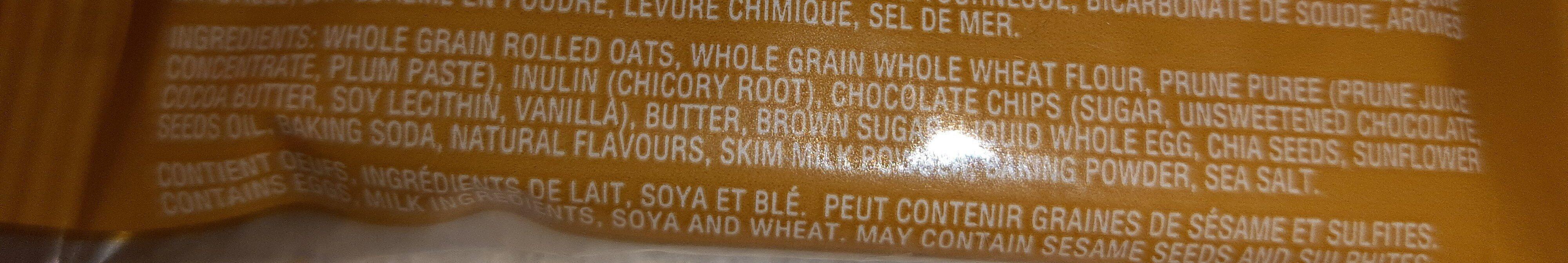 more cookie - Ingredients - en