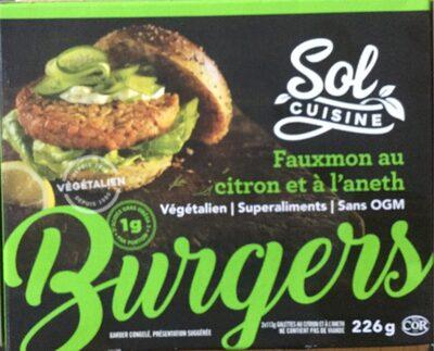 Burgers - fauxmon au citro et à l'aneth - Product - fr