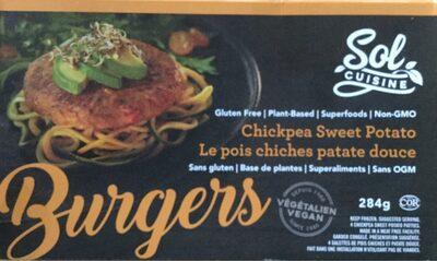 Burgers de pois chiche et patate douce - Product - fr