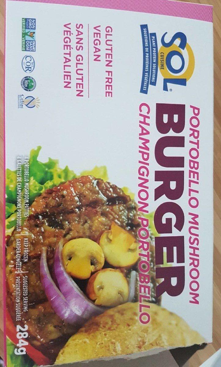 Burger champignon et riz sauvage - Produit