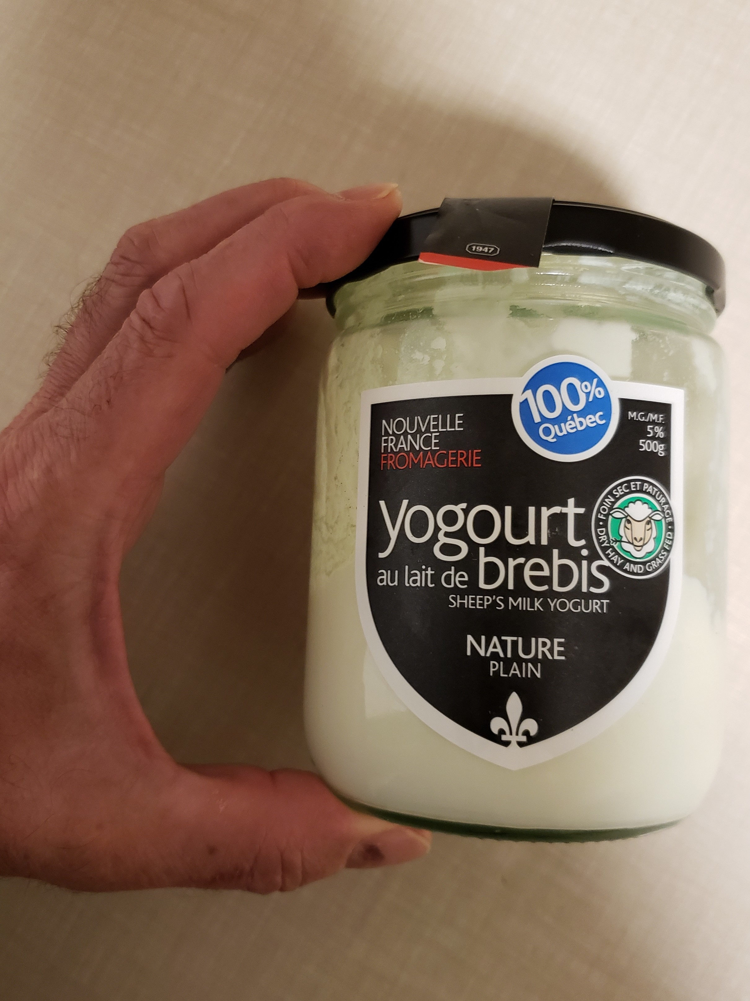 Yogourt au lait de brebis - Product - fr