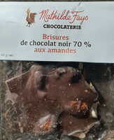 Brisures de chocolat noir 70% - Product - fr