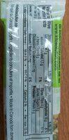 Barre de graines et de fruit chocolat canneberge - Informations nutritionnelles - fr