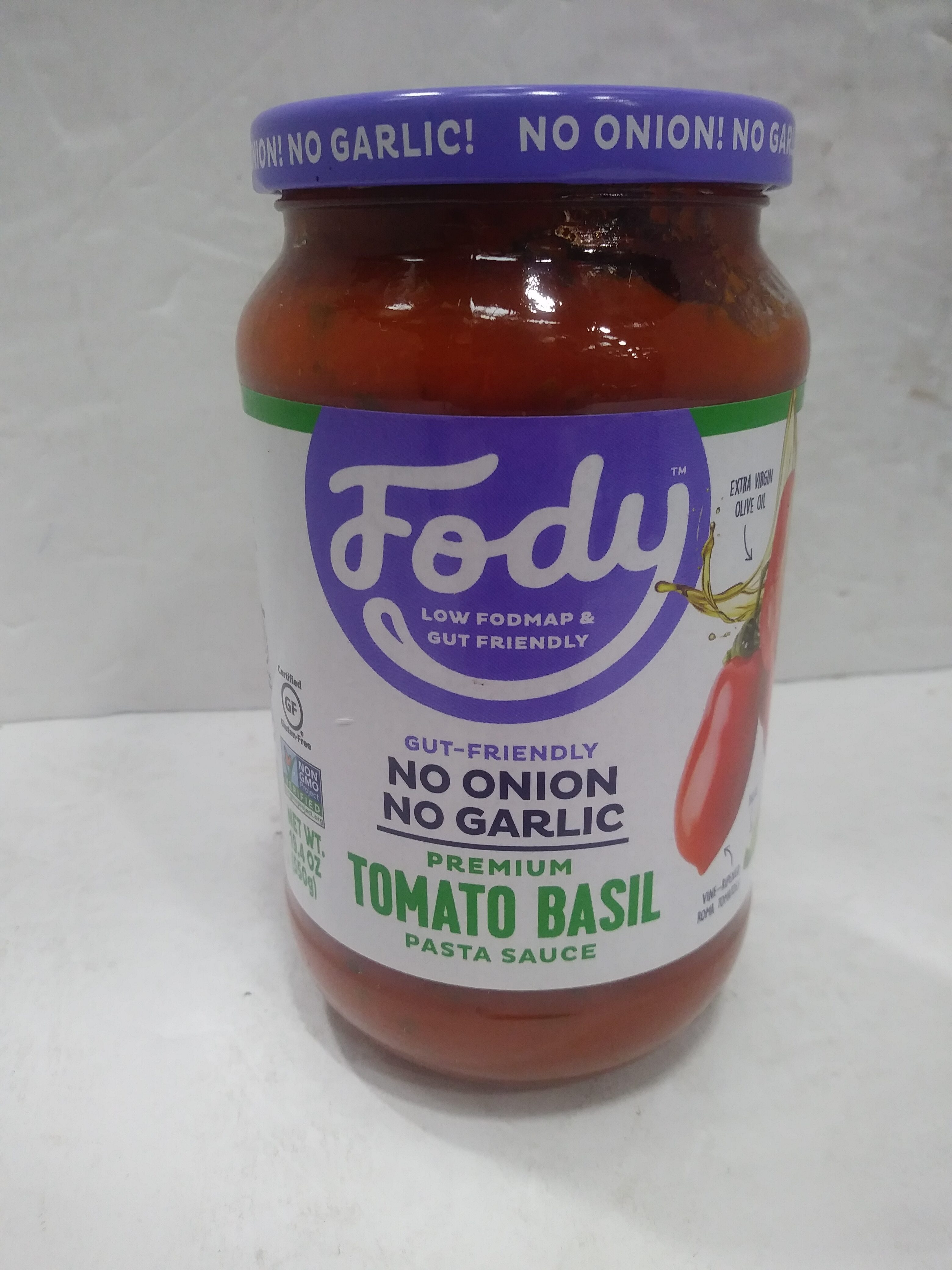 Tomato basil pasta sauce - Prodotto - en