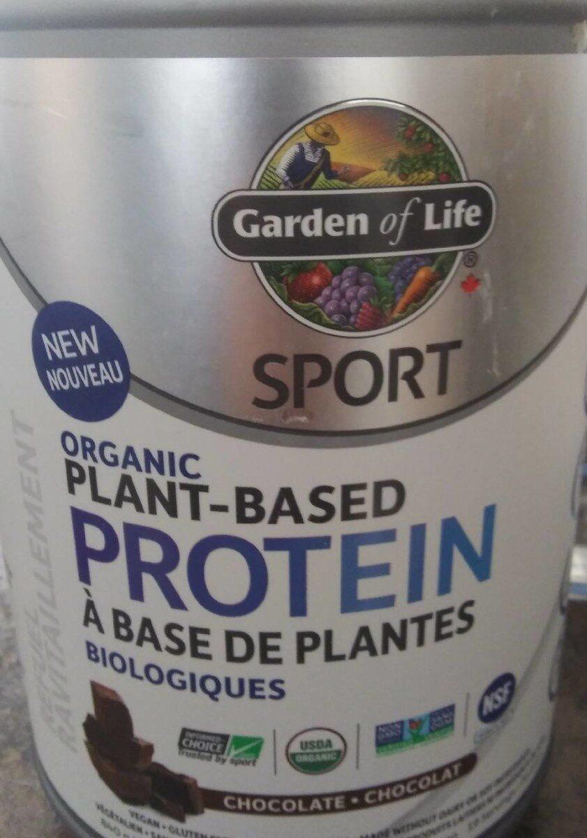 Protein a basse de plante biologique - Produit - fr
