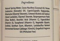 grapefruit lotion - Ingrédients - en