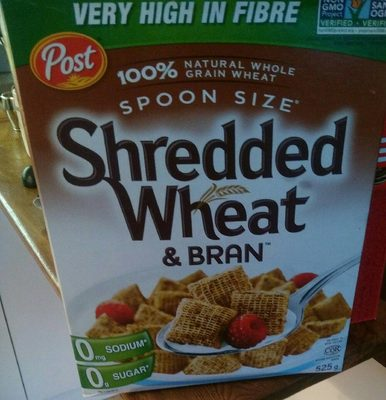 Shredded Wheat & Bran - Produit