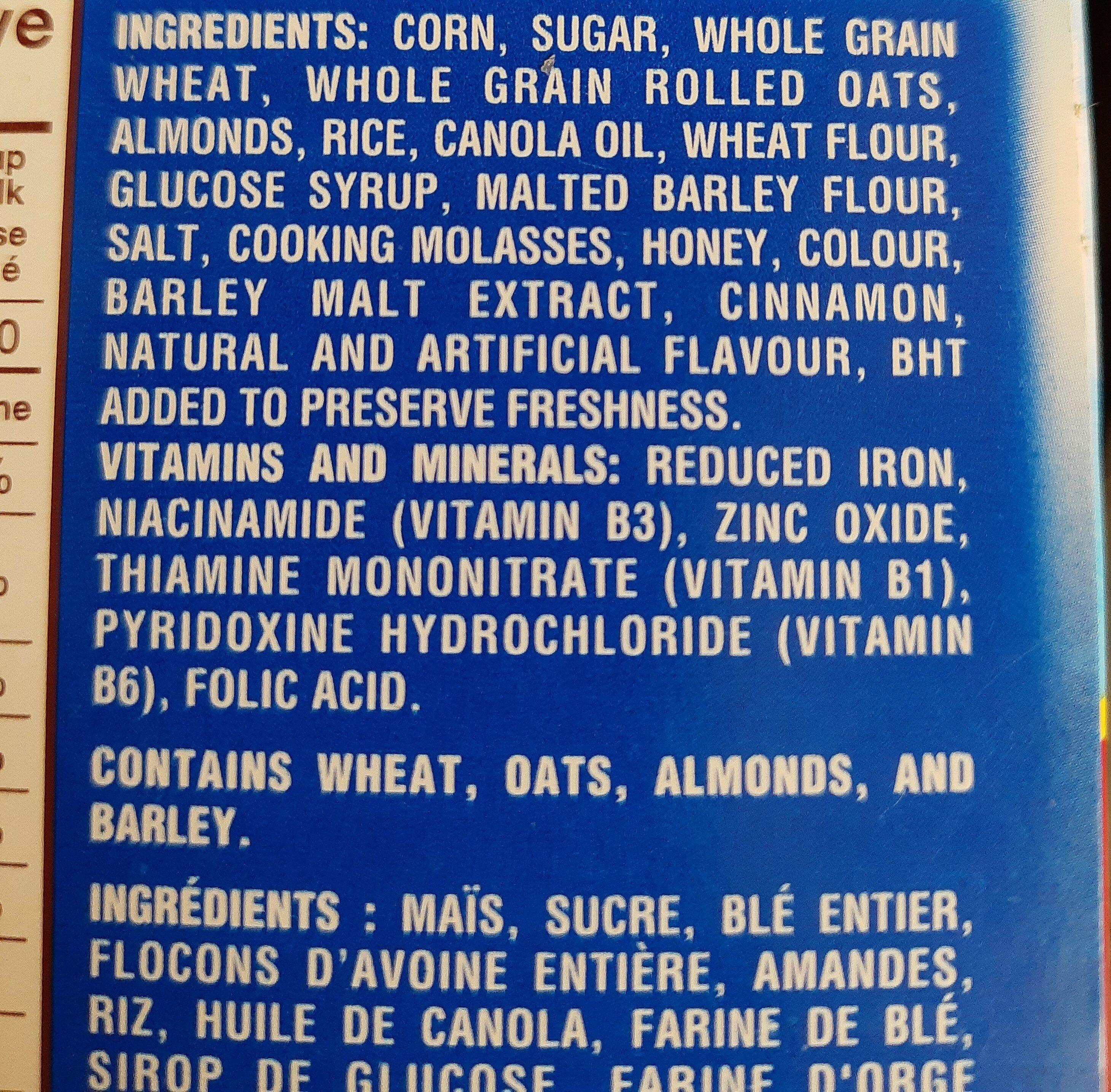 Honey Bunches of Oats - Ingrédients - en
