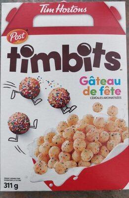 Timbits births cake - Produit - en