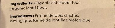 Chickapea - Ingrédients - fr