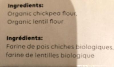 Organic Linguine - Ingrédients - fr