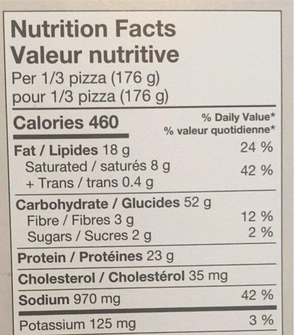 Batonnet à l'ail et au fromage - Informations nutritionnelles - fr