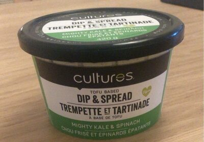 Tofu base Dip & spread mighty kale & spinach - Produit - fr