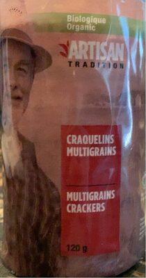 Craquelins multigrains Bio - Produit - fr